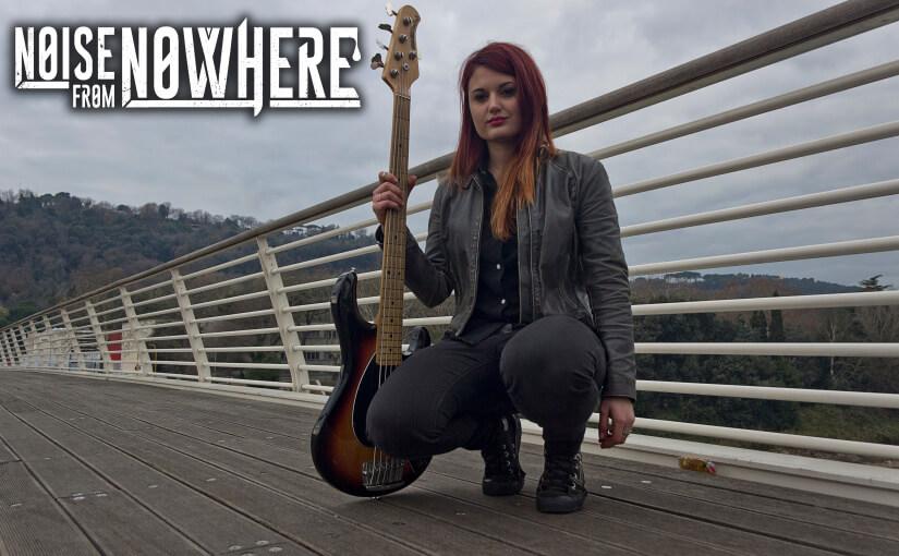 Valeria Scaparro è la nuova bassista dei Noise From Nowhere